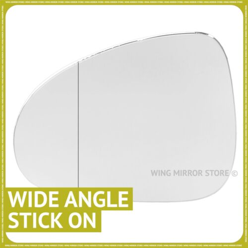 Left hand passenger side for VW Touareg 2010-2016 Wide Angle wing mirror glass