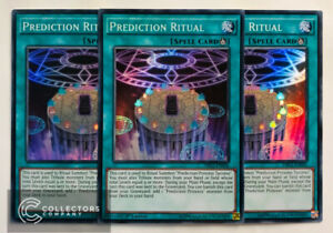 - Super Rare Yu-Gi-Oh 1st Edition DRL2-EN036 PREDICTION RITUAL -