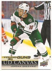 Jordan-Greenway-18-19-Upper-Deck-2-Young-Guns-Rookie-Card-UD-Canvas