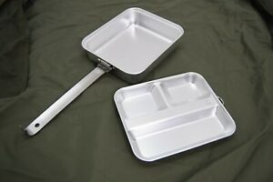 British-Army-Style-Mess-Tin-Lunch-Box-With-Eating-Tray-Stainless-Steel-Mess-Kit