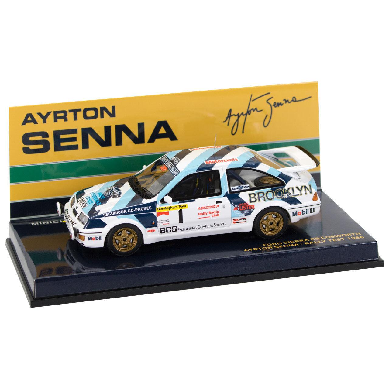 Ayrton Senna Ford Sierra RS 1986 1 43  | Heißer Verkauf