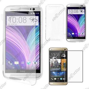 Housse-Etui-Coque-Portefeuille-Silicone-TTransparent-HTC-One-M8-2014-Verre
