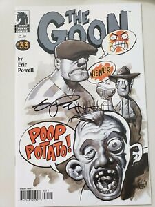 THE-GOON-33-2009-DARK-HORSE-COMICS-AUTOGRAPHED-by-ERIC-POWELL-with-COA-NM