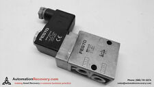 Festo Mfh 3 18 Pneumatic Valve With Solenoid And Manual Override 136413