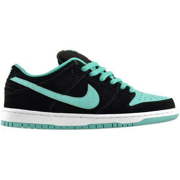 Nike DUNK LOW PRO SB Black Clear Jade White Skate 304292-030 Price reduction Men's Shoes The most popular shoes for men and women