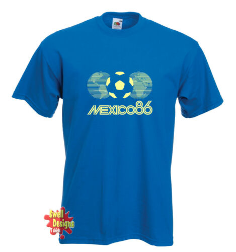 MEXICO 86 World Cup football T shirt All Sizes