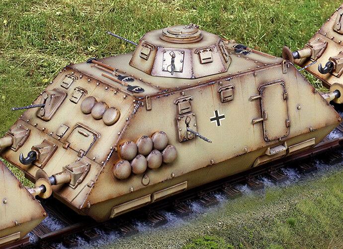 Die Sammler Schaufenster WW2 Deutsch CS01062 Gepanzerte Zug Scout Auto MIB