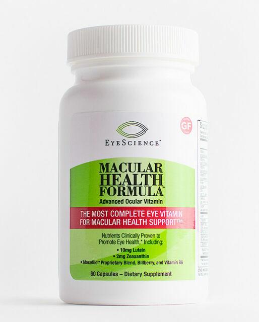 EyeScience® Macular Health Formula, 60ct  Advanced Ocular Vitamin