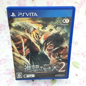 USED PS Vita Attack on Titan 2 KOEI TECMO GAMES VLJM-38088 ...