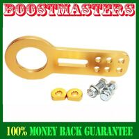 88-00 Honda Civic Integra Acura Tow Hook Front Gold