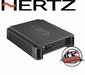 Hertz-hcp2-2-Canal-Amplificateur-400-watts-hochpegel-entree-voiture-turn-on-NOUVEAU