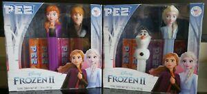 Kristoff /& Olaf BB: 9//2024 Elsa PEZ Disney Frozen II Gift Set Featuring Anna