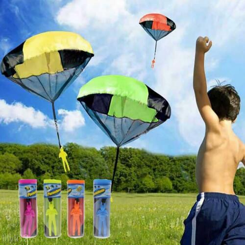 Kids Toy Throwing Hand Outdoor Parachute Mini Children/'s Educational Sport Toys