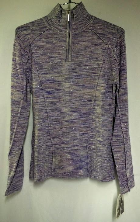Nils Larien Womens Resort Wear Fashion Sweater Dark Iris Size Medium NEW