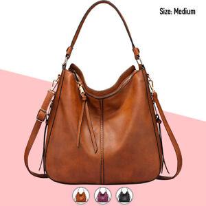 Hobo Bag Women Faux Leather Purses Handbags Shoulder Crossbody Fashion Vegan