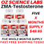 From-14-95-ZMA-Zinc-Magnesium-Vit-B6-Testosterone-Booster-AUST-MADE thumbnail 11