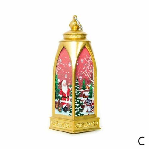 Christmas Candlestick Pendant Hanging Lantern Lamp Wind Light Festival Hot Decor