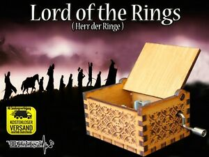 Lord-of-the-rings-Herr-der-Ringe-Spieluhr-Musicbox-Neu-Fanartikel-Hobbit-Gollum