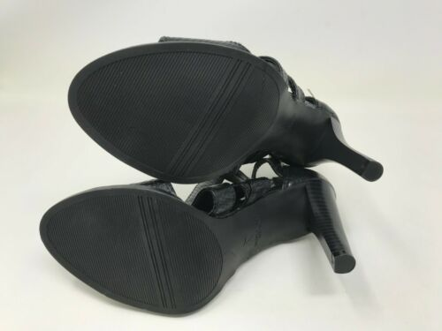 Dragon black high heel sandals 421i 160089 Womens Simply vera
