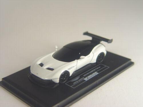 Aston Martin Vulcan Sportwagen weiß Fronti Art Auto Sammler Modell in 1:87