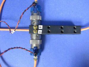 Clippard-EV-3M-15-5-VDC-3-Way-Solenoid-Valve-Lot-of-2-Manifold-Mounted