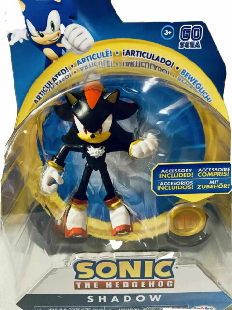 Sonic The Hedgehog Action Figure 4-Inch Super Sonic with Super Ring Accessory