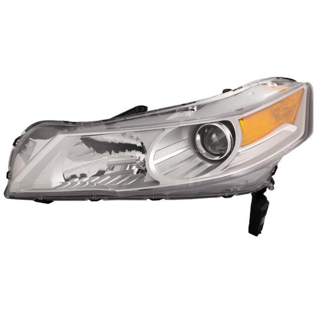 Headlights HID Type (w/o HID Kit) Right Passenger Left