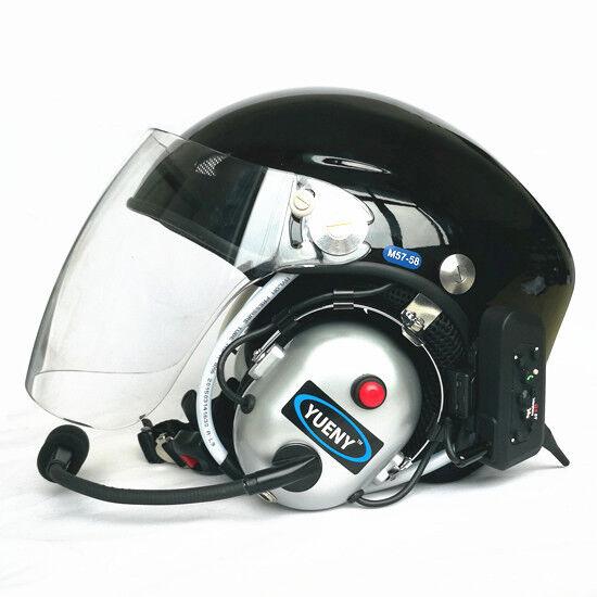 Nuevo casco con tecnología parapente paramotor yueny azultooth casco con intercomunicador