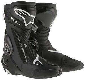 ALPINESTARS-SMX-PLUS-Bottes-noires-de-motocycle