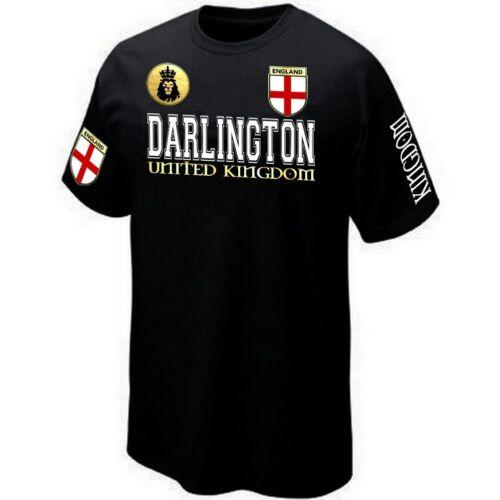 Silkscreen DARLINGTON ENGLAND UNITED KINGDOM T-SHIRT