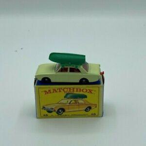 Vintage-Matchbox-Lesney-No45b-Ford-Corsair-amp-Barco-1965