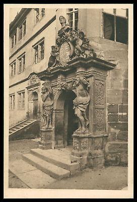Ak Rothenburg Ob Der Tauber Alte Ansichtskarte Foto-ak Postcard Cx37 StäRkung Von Sehnen Und Knochen Architektur Bayern