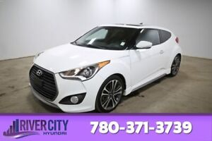2016 Hyundai Veloster TURBO TECH Navigation (GPS),  Leather,  Heated Seats,  Panoramic Roof,  Back-up Cam,  Bluetooth,