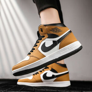 Men-039-s-New-Classy-Air-1-Sneakers-Running-Boots-Sports-Jog-Athletic-Shoes-High-Top