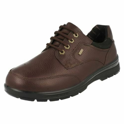Padders Terrain Mens Waterproof Lace Shoe Brown Sizes 6-12