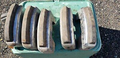 "Classic VW type 34 Karmann ghia 15/"" Rim White Wall port a wall set 4  #219"