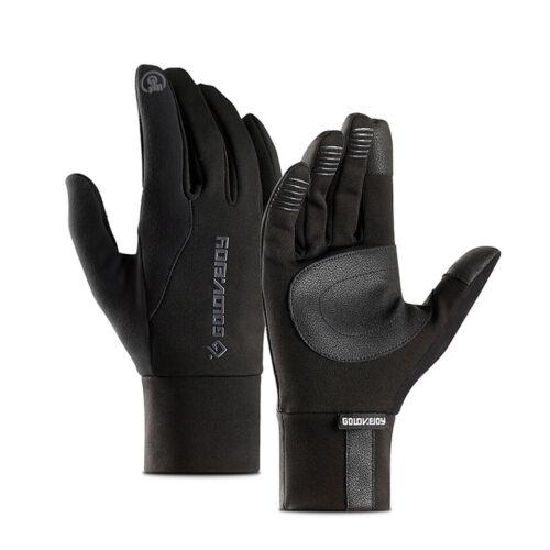 Outdoor Sports Windstopper Velvet Fishing Gloves Waterproof Winter Touch MTB