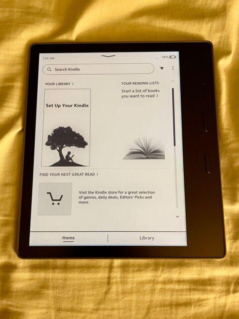 Amazon Kindle Oasis (9th Generation) 8GB, Wi-Fi, 7in - Graphite