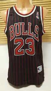 Chicago-Bulls-Trikot-NBA-JORDAN-Champion-Jersey-Shirt-Camiseta-Maglia-Camiseta-L