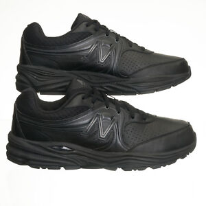 72519ee0aef35 Image is loading New-Balance-WW840-Black-Leather-Walking-Shoes-Womens-