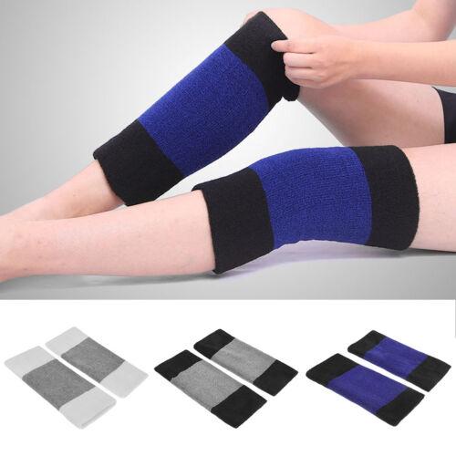 1 Pair Men Women Thicken Thermal Knee Brace Leg Warmer Protector Warm Knee Pad