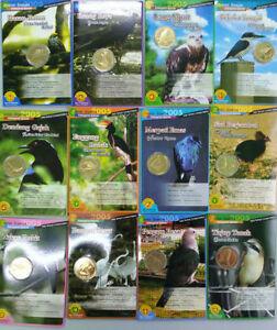 Malaysia-Bird-Series-no-1-to-12-Full-set-Coin-Card
