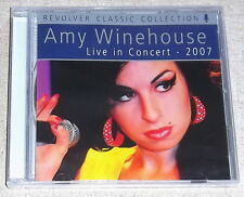 AMY WINEHOUSE Live in Concert 2007 CD SOUTH AFRICA Cat#REVCD599
