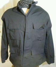 Propper RN89706 Public Safety Polyester Blend Black Long Sleeve Heavy Shirt XLR