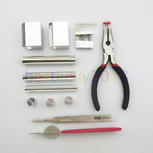 HUK 12 in 1 Lock Disassembly Tool Kit Locksmith Tools Kit Remove Lock Repair Set