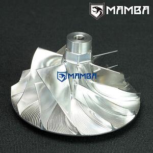 7+7 44 // 62mm MAMBA Turbo Billet Compressor Wheel For Mitsubishi TD04HL