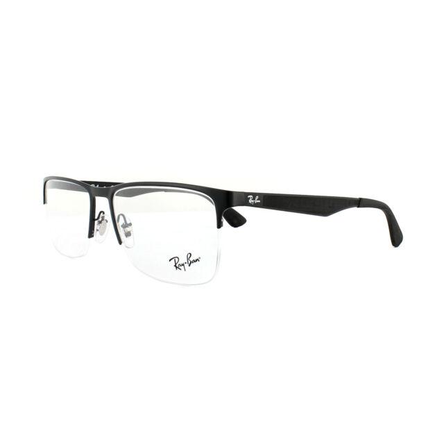 c4794b6703b Ray-Ban Glasses Frames 6335 2503 Matte Black 54mm for sale online