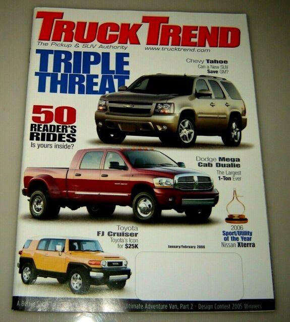 Truck Trend Magazine January/February 2006