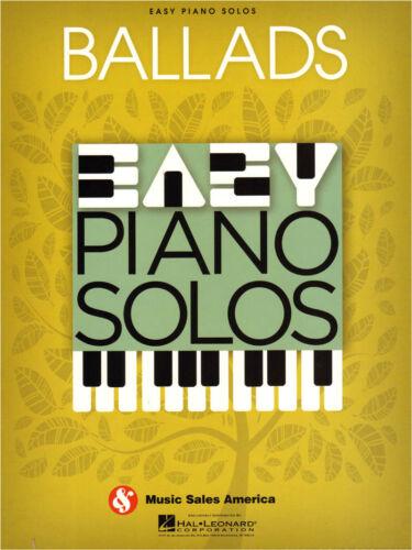 Easy Piano Solos Ballads 22 Pop Balladen Noten für Klavier leicht