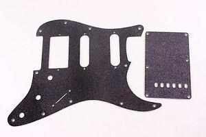 Red Glitter HSS pickguard trem cover set Fits Fender Strat Stratocaster